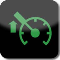 Citroen C1 speed limiter active dashboard warning light