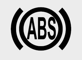 Kia Anti-lock brake system (ABS) dashboard warning light