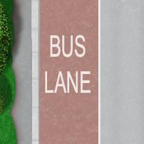 Bus lane theory test