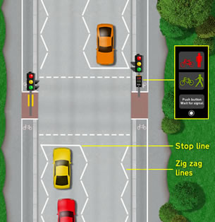Theory Test Toucan crossings