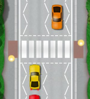 Zebra crossings represent the most hazardous crossing for pedestrians