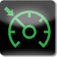 Land Rover / Range Rover / Evoque / Discovery adaptive / cruise control dashboard warning light