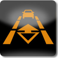 Land Rover / Range Rover / Evoque / Discovery follow mode on dashboard warning light