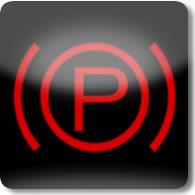 Land Rover / Range Rover / Evoque / Discovery parking brake dashboard warning light