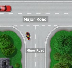 Major and Minor roads explained