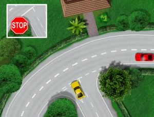 Road Junctions on bends