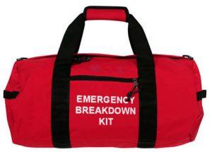 Car emergency breakdown kit