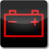 Mercedes Benz battery charge dashboard warning light