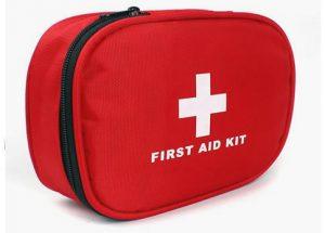 Roadside emergency first aid kit