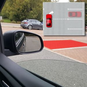 Forward Parking Into A Bay Reference Points Driving Test