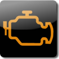 Honda Malfunction Indicator (MIL) dashboard Warning light symbol