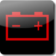 Honda Battery dashboard Warning light symbol