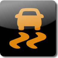 Honda Vehicle Stability Assist dashboard Warning light symbol