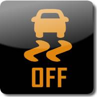 Honda Vehicle Stability Assist OFF dashboard Warning light symbol