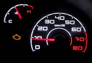 Engine Management Dashboard Warning Light