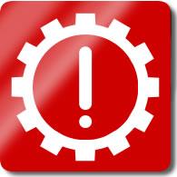 Audi A1 / S1 Cog / Exclamation (transmission) Dashboard Warning Light Symbol