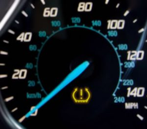 Resetting the Ford Transit tyre pressure warning light