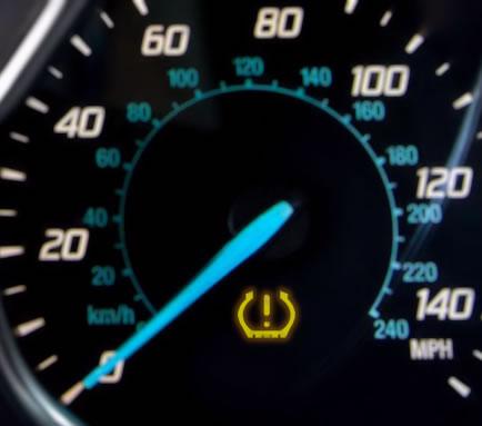 mini 2010 tyre pressure reset