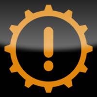 Ford Kuga / Ford Escape powertrain malfunction dashboard warning light symbol