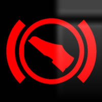 Skoda Octavia adaptive cruise control (ACC) dashboard warning light symbol