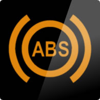 Ford Ka / Ford Figo ABS (anti-lock braking system) dashboard warning light symbol