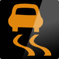Ford Ka / Ford Figo ESP / hill holder failure dashboard warning light symbol