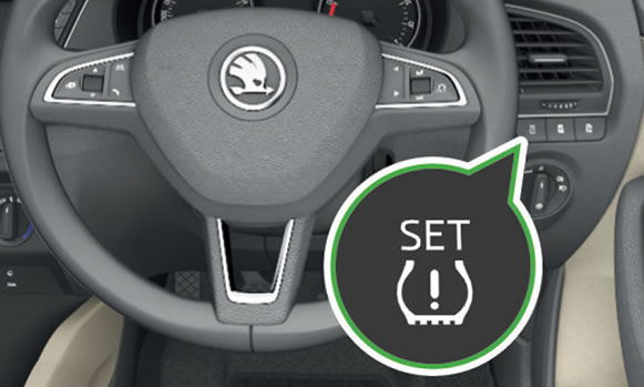 Reset ŠKODA Fabia Tyre Pressure Warning Light – Driving Test Tips
