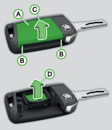 How to Change ŠKODA Fabia Key Fob Battery – Driving Test Tips