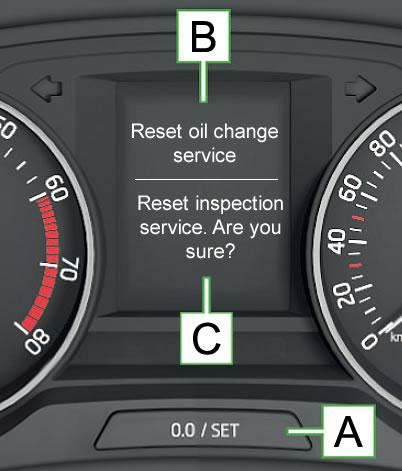 Skoda Octavia Service reset