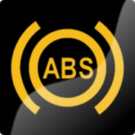 Ford Mondeo / Ford Fusion ABS dashboard warning light symbol
