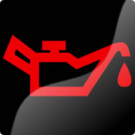 Ford Mondeo / Ford Fusion engine oil dashboard warning light symbol