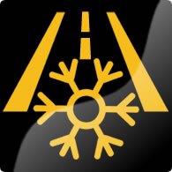 Ford Mondeo / Ford Fusion frost warning (snowflake) dashboard warning light symbol