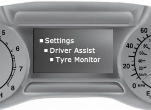 Ford Mondeo / Ford Fusion tyre pressure monitoring system reset