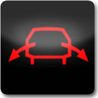 Land Rover ACE Warning Light