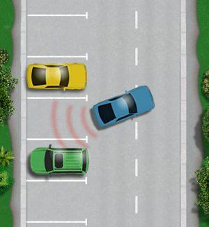 Driving test parking sensors rules