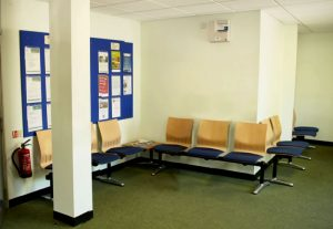 Pinner Driving Test Centre Waiting Room